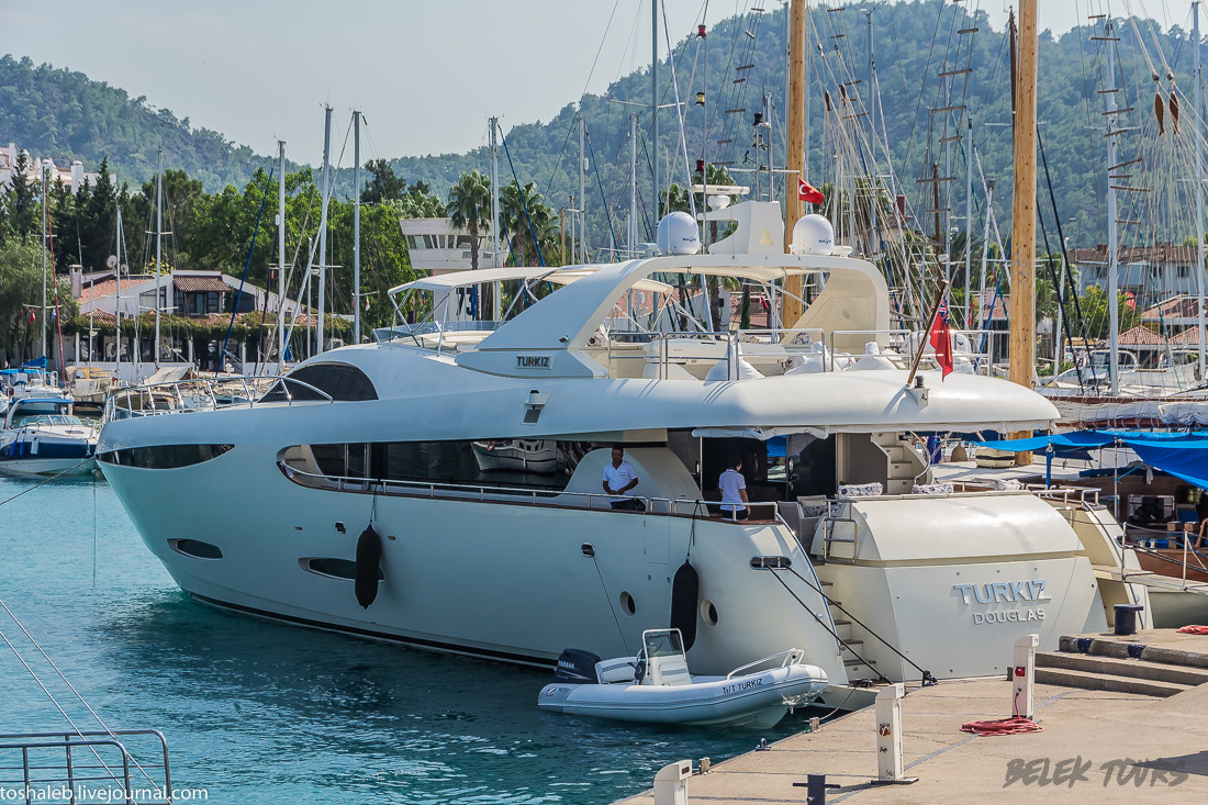 Rent a yacht in Turkey with a captain
