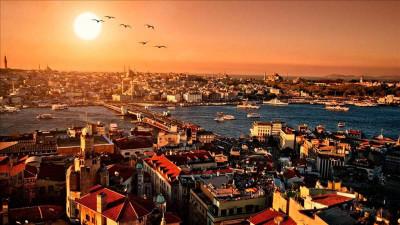 Istanbul from Serik