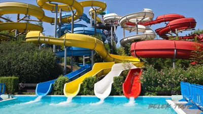 Aqualand roller coasters in Antalya from Seric