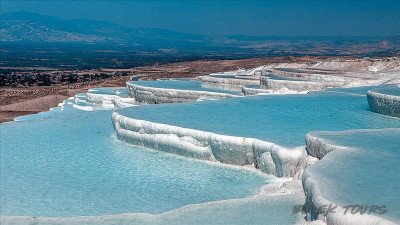 Tour in Pamukkale for 2 days from Serik