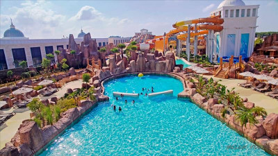 """The """"Land of Legends"""" theme park in Serik"""
